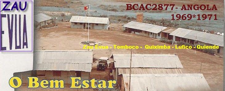 BCAC 2877 - Angola 1969 - 1971