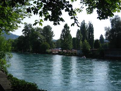 Berna. Suiza. Rio Aare