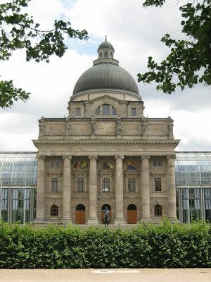 Edificio clásico en Munich