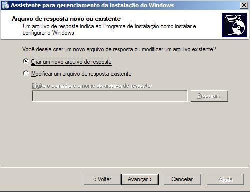 Instalação automática do Windows XP