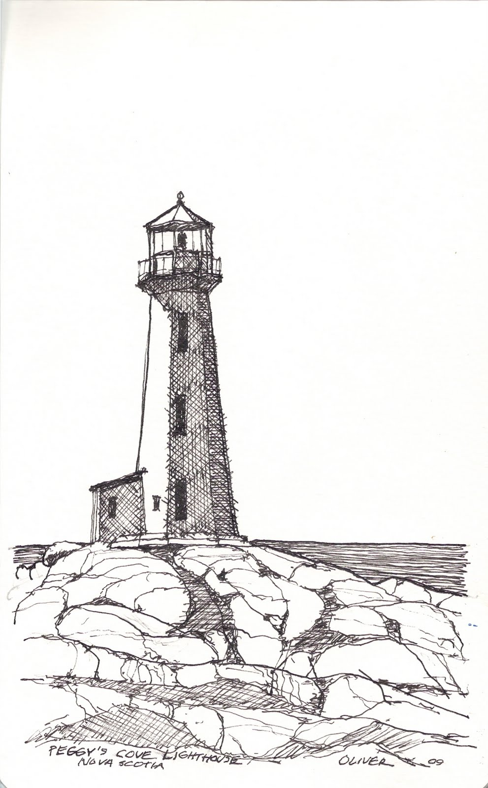 Gallery For gt Lighthouse Sketch