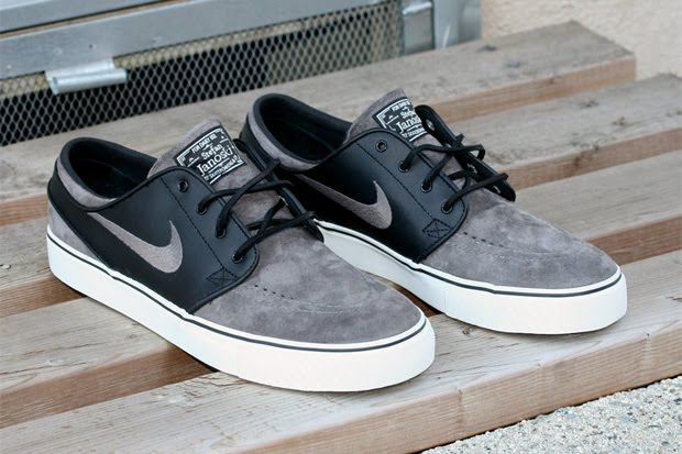 Stephan Janoski Nike SB (Midnight Fog, Black)