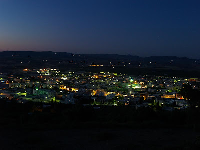 Zaghouan, Zagwane, Zaghouan by night, tunisia