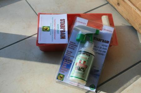 Produit antid rapant for Carrelage glissant solution