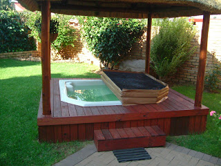 Wooden Jacuzzi Design