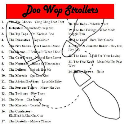 Doo Wop Strollers - Let's Dance The Stroll !