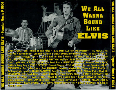 We All Wanna Sound Like Elvis - Various Artist