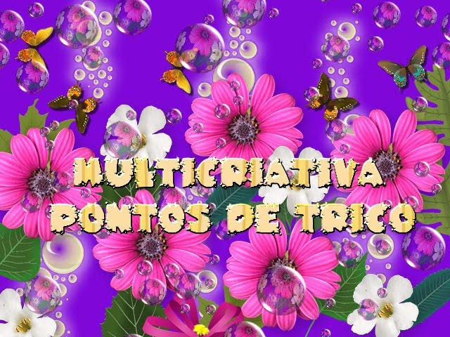 MULTICRIATIVA - PONTOS DE TRICÔ