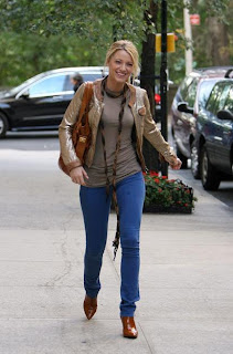 Blake Lively Jeans on Blake Lively Colorful Jeans Jpg