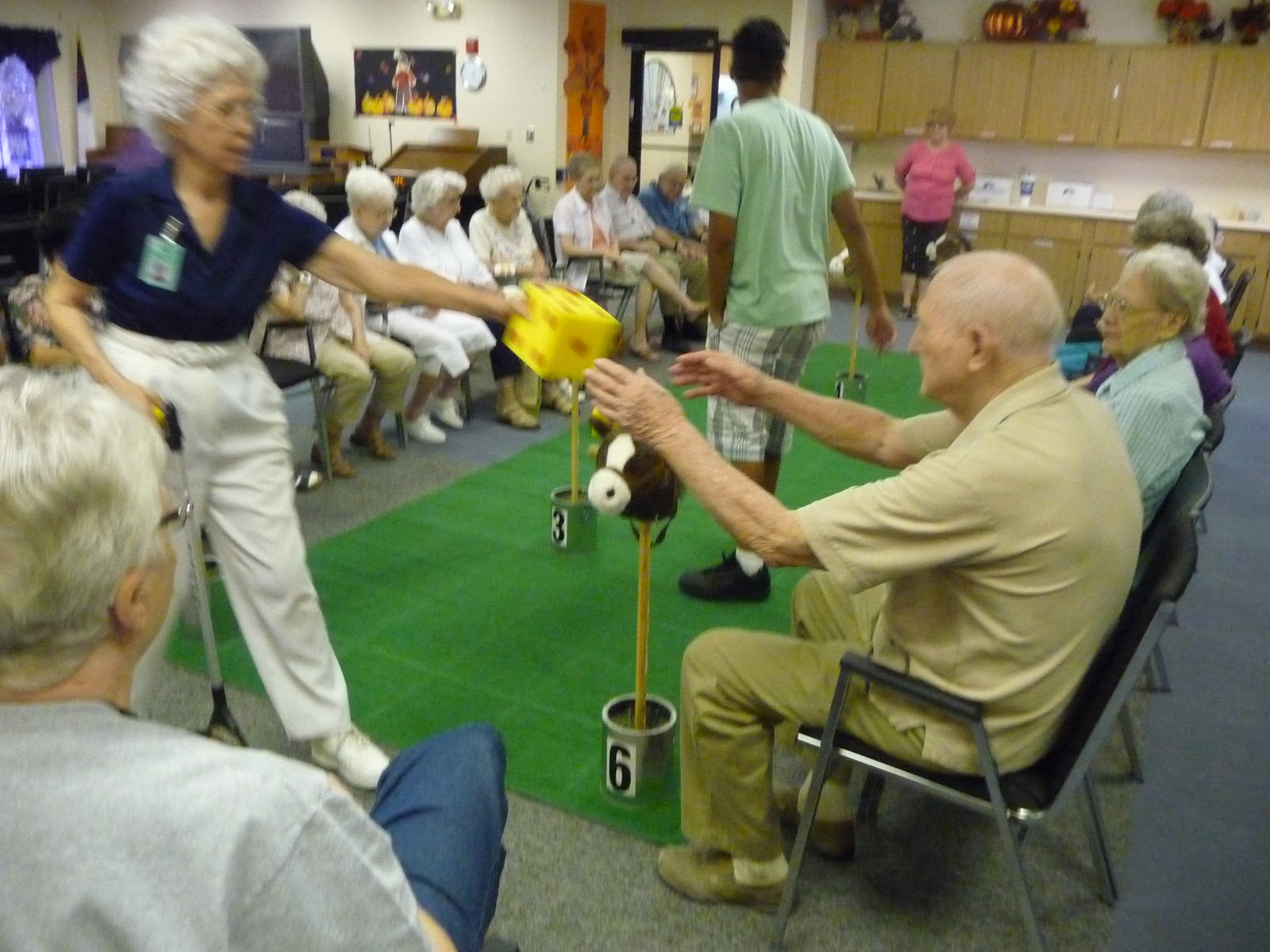 Activity director craft event ideas games for Seniors house