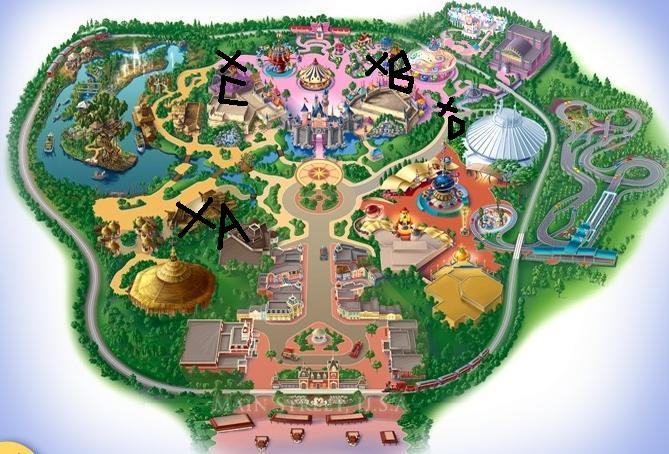 map of hong kong disneyland. Hong Kong Disneyland halloween