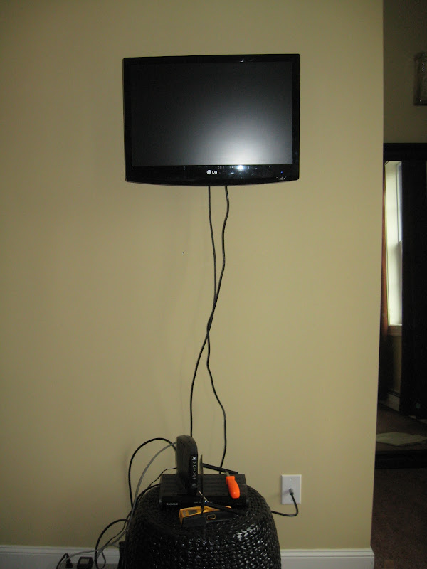Small TV Shelf for Cable Box Mount