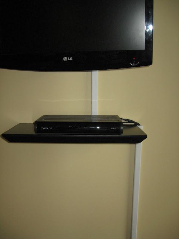 Floating TV Shelf for Cable Box