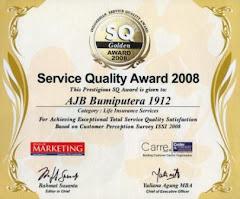 Service Quality Award 2008