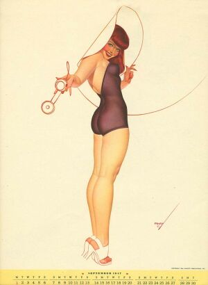george petty  pinup artist of