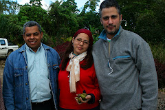 Con Farah Hallal y Héctor Then