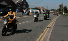 Charity Ride - Leaving Ewloe
