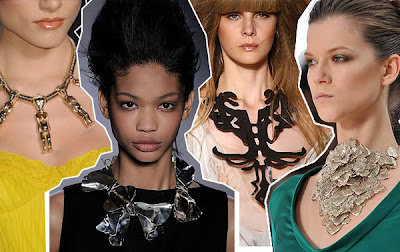 chunky necklaces    latest fashion accessories