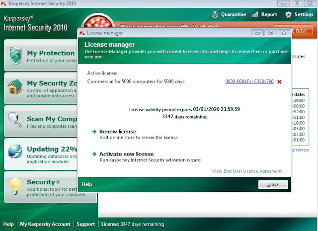 Internet Security 2010 v9.0.0.736 2010 RUS win вечный кряк.