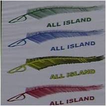4 peringkat warna ALL ISLAND GEMILANG