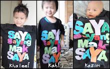 khaleef, kahfi & kazim