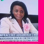 A bonitona chama-se Valentina Matias Filipe e é Secretária de Estado das Finanças