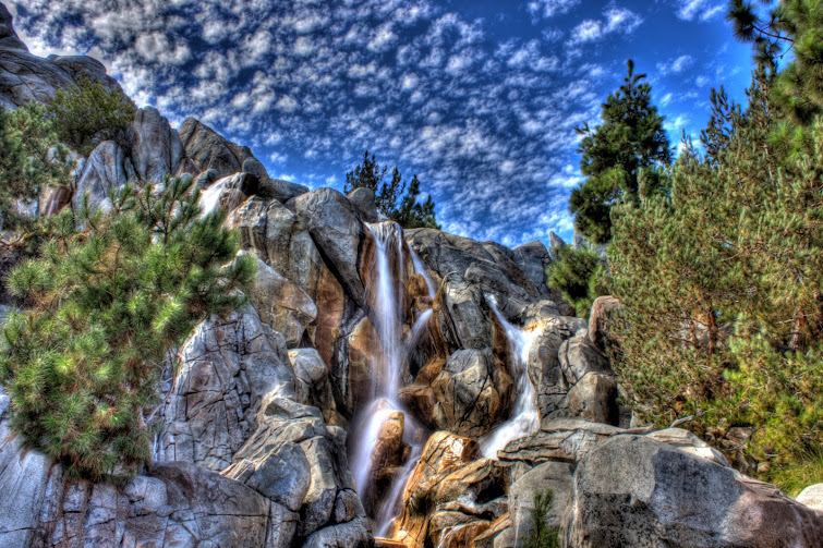 Waterfall at California Adventure by Ryan Graves, Microsoft Staffing Consultant Extraordinaire