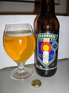 Steamworks Colorado Kölsch Ale