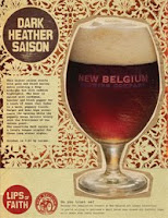 New Belgium Dark Heather Saison