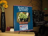 Samuel Adams Beer Dinner at Rioja