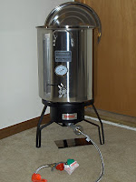 Homebrewing setup