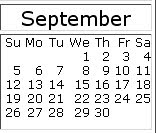September 2010 events