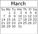 March 2010 Events
