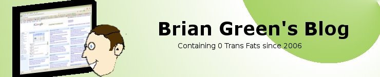 Brian Green&#39;s Blog