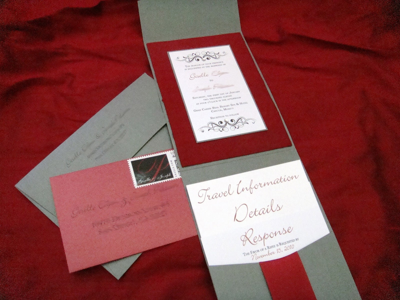 GE Designs: GE Wedding: Invitations... Check!