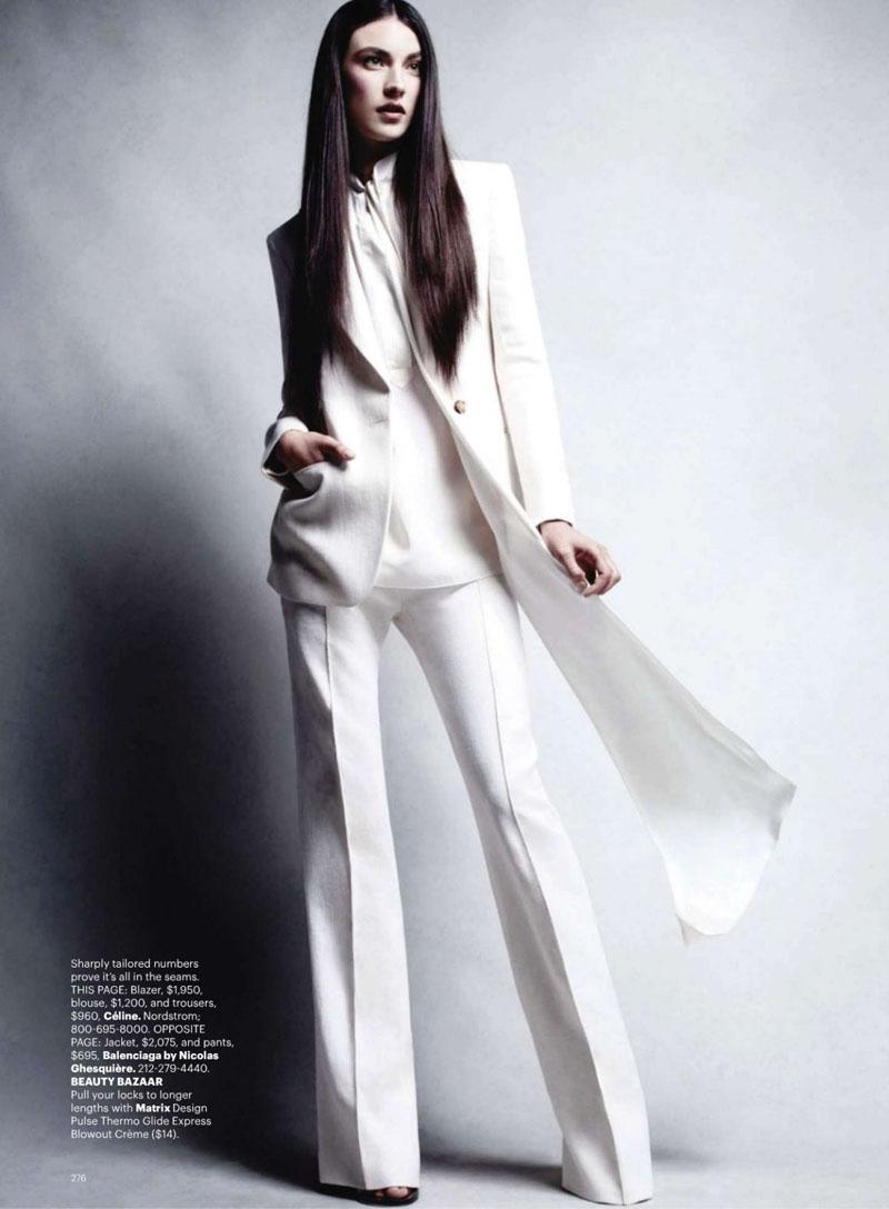 Jacquelyn Jablonski en Harper's Bazaar fotografiada por Victor ...