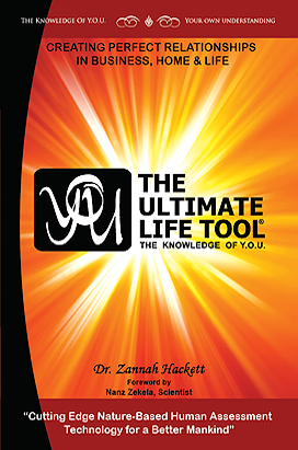 Book Excerpt 1 from  Y.O.U. and The Ultimate Life Tool®: By Dr. Zannah Hackett