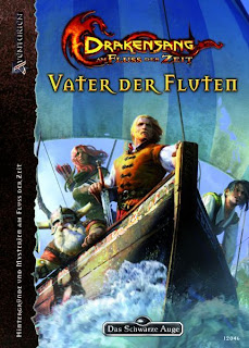 Cover von Vater der Fluten - Das Kompendium zu Drakensang: Am Fluss der Zeit