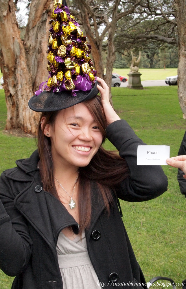 Phuoc with a candy hat!