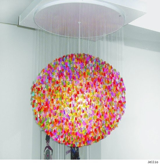 Colorful Chandeliers: ,Lighting