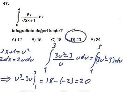 2010 lys matematik 47. soru ve çözümü
