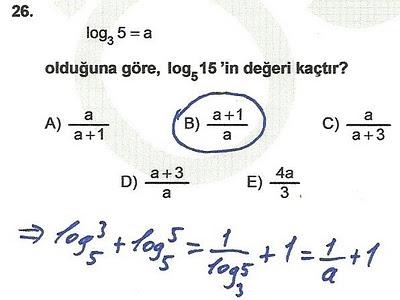 2010 lys matematik 26. soru ve çözümü