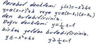2010 lys matematik 16. sorunun  çözümü