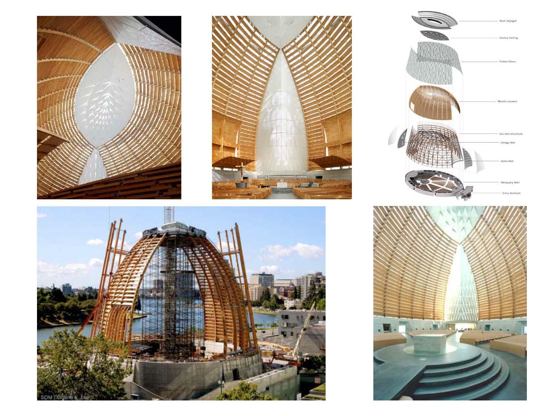 Estructura iii lizana catedral en madera laminada - Estructura madera laminada ...