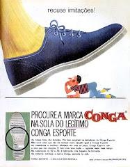 PROPAGANDA DO TÊNIS CONGA