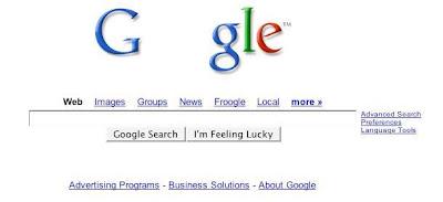 Google original website