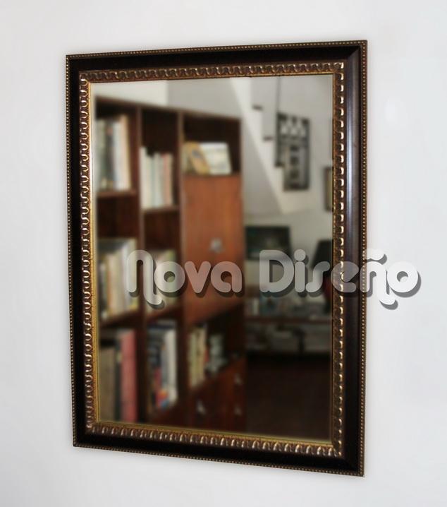 Nova Diseño ···: Espejos clásicos - Espejos con ribetes dorados