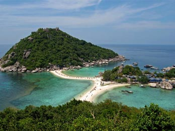Attractive tourist places nangyuan island southern thailand - Nangyuan island dive resort ...
