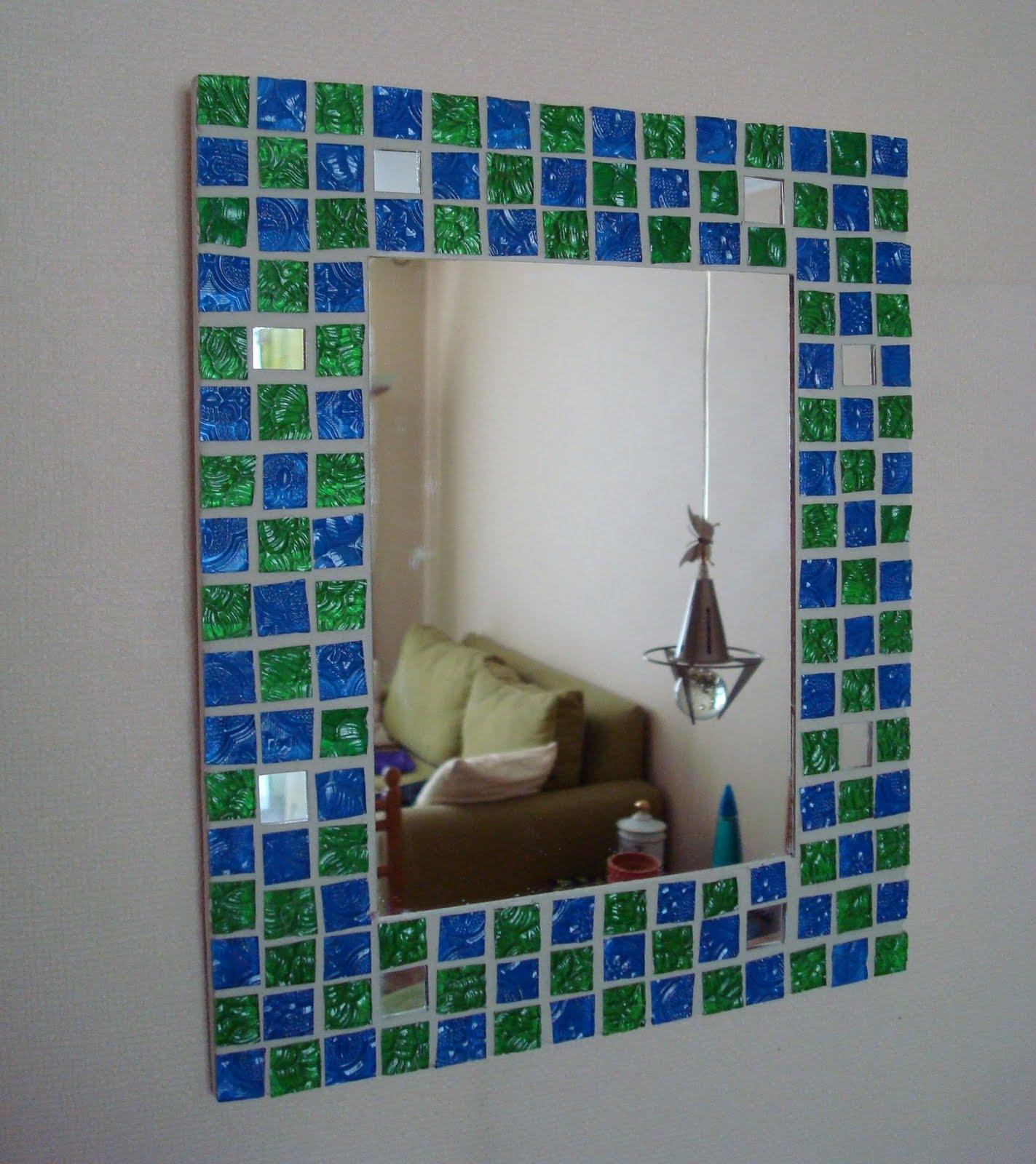 Espejos cosas lindas de mosaico for Espejos largos de pared