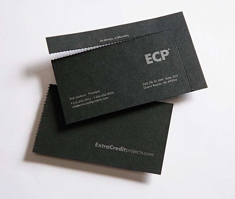 Memo: Notable Graphic Design: Interactive Business Card